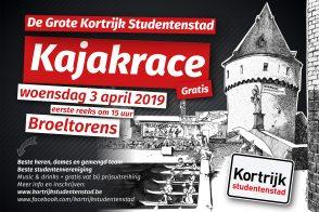 De Grote Kortrijk Studentenstad Kajakrace