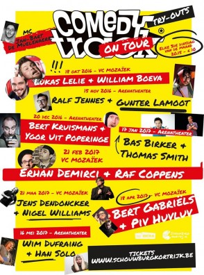 ComedyTrack* on Tour