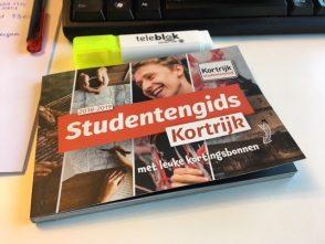 Nieuwe studentengids in Kortrijk!